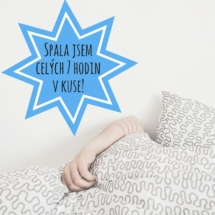 Medaile za zvládnutý spánek