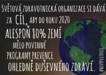 Světová zdravotnická organizace si dává cíl