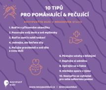 10 tipů pro pomáhající a pečující - FB