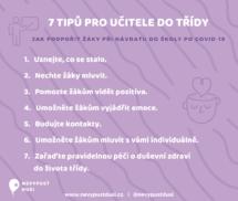 7 tipů pro učitele do třídy